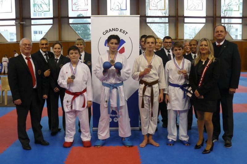 Championnat-régional-Grand-Est-CJS-combats-3-mars-2019 Anthony 3ème