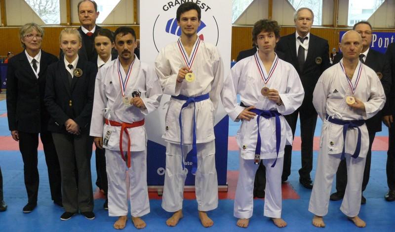 Championnat-régional-Grand-Est-CJS-combats-3-mars-2019 Théo 1er