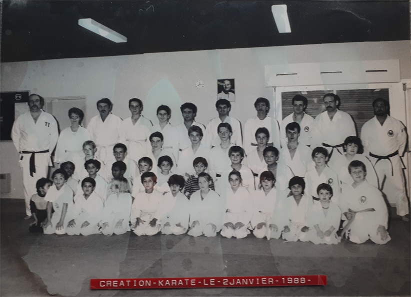 creation karate club 1988